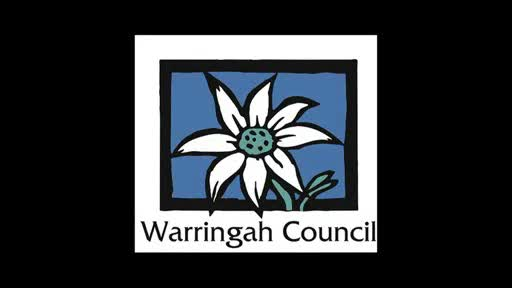 play video - Message from Warringah Mayor Michael Regan